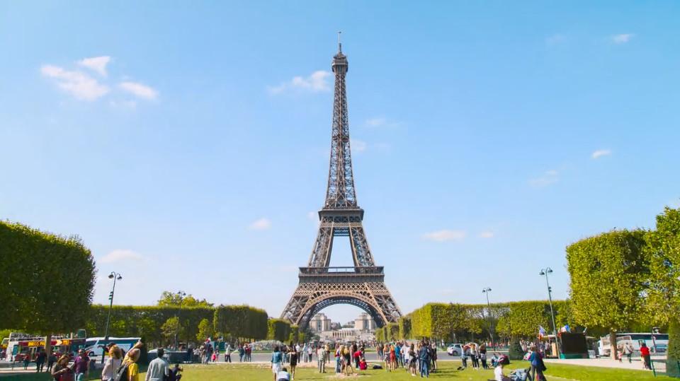 Bonjour Paris  A Hyper-Lapse Film - In 4K