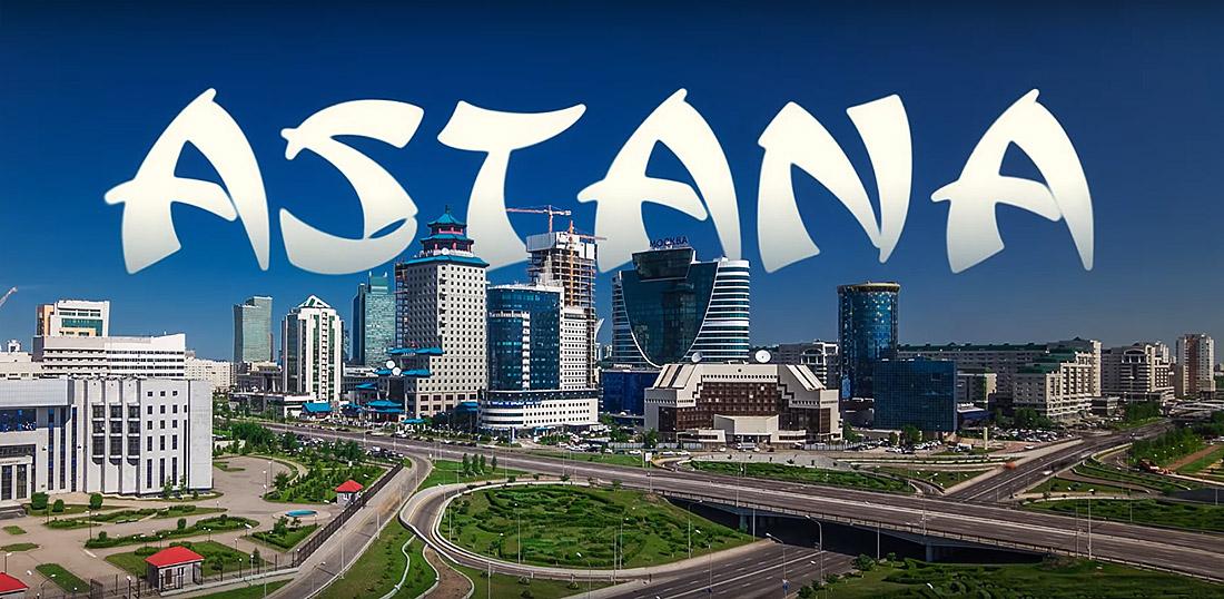 Astana Kazakhstan Capital Timelapse Hyperlapse