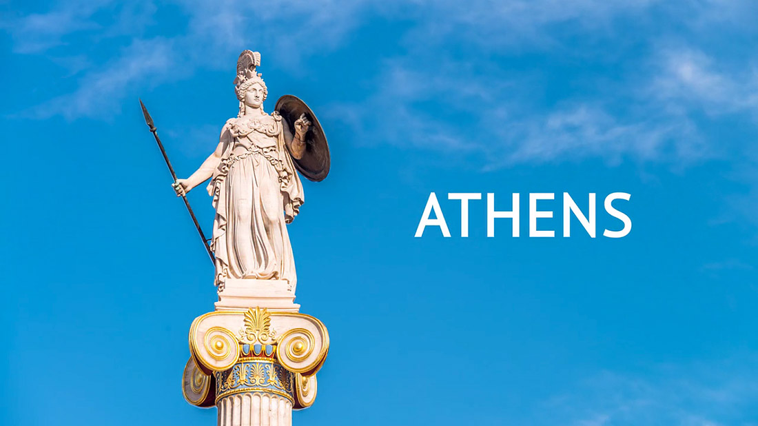 Athens, Timelapse, Tourism, Greece