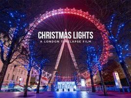 London Christmas Lights 8K